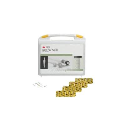 3M RelyX Fiber Post 3D Intro Kit zestaw wprowadzający 56957
