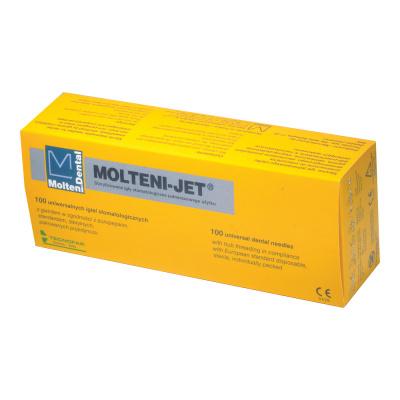 Igły doznieczuleń Molteni- Jet, op. 100 szt.
