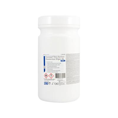 Chusteczki dodezynfekcji powierzchni Eurosept Plus Surface Disinfection Wipes pudełko 200 szt. Henry Schein