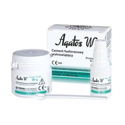 Agatos Wzestaw 30 g (proszek) + 18 g (płyn) Chema