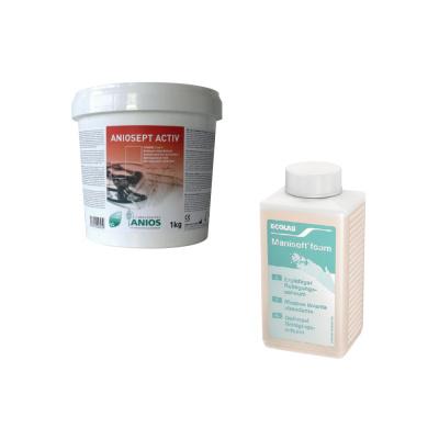 Aniosept Active 1 kg dodezynfekcji narzędzi + Manisoft 500 ml Ecolab