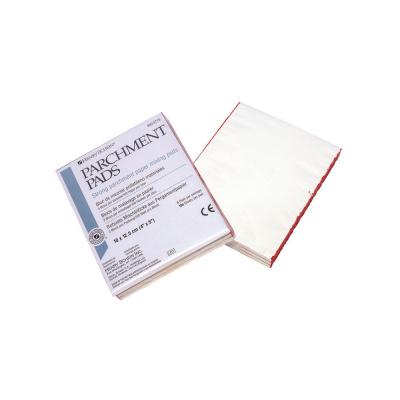 Białe papierowe bloczki domieszania Henry Schein