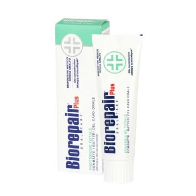 Biorepair Plus -pasta dozębów zcząsteczkami Microrepair naprawiająca powierzchnie szkliwa 75 ml
