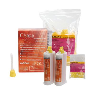 Cyber silicone 4 × 50 ml + końcówki mieszające 50 szt.