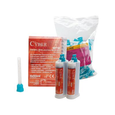 Cyber Silicone Bite 4 × 50 ml + końcówki mieszające 50 szt.