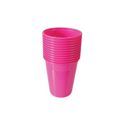 Kubki jednorazowe różowe 180 ml Henry Schein