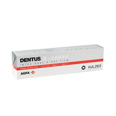 Klisze Agfa Dentus E-speed 3 × 4 cm 150 szt.