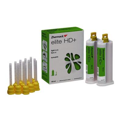 Elite HD + Lite Light Body Fast 2 x 50 ml + 12 końcówek C203040 Zhermack