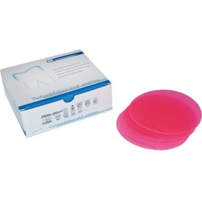 Folia Erkoloc-Pro Pink 4.0 mm okrągła 125 mm 10 szt. Erkodent