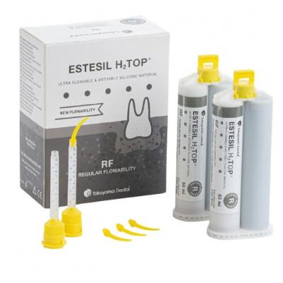 Estesil H2Top™ Regular Flowability 2 x 50 ml Tokuyama Dental -data ważności 30.10.2021.