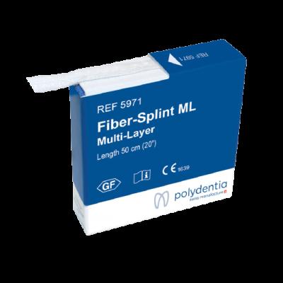FIBER-SPLINT MULTI-LAYER taśma doszynowania 0.5 m 5971 Polydentia