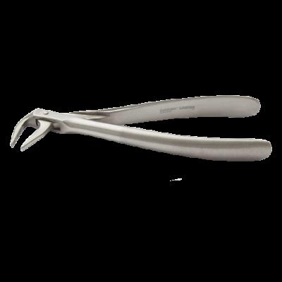 Kleszcze ekstrakcyjne dolne korzenie ZFS166#59 uchwyt gładki Zeffiro