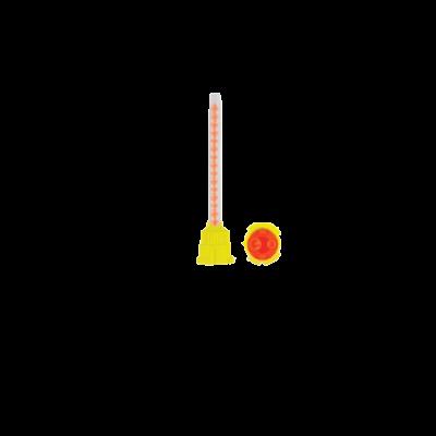 Końcówki domieszania Dentaline 80 mm proporcja 4:1 (żółto-pomarańczowe) 50 szt. DI.1105.10 Falcon