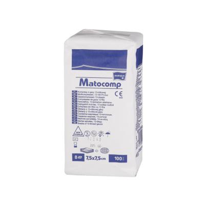 Kompresy zgazy niejałowe Matocomp