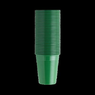 Kubki jednorazowe zielone 200 ml op. 100 szt. Euronda