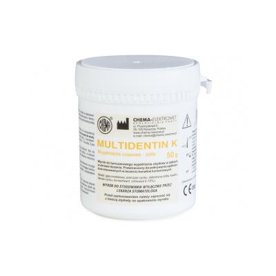 Multidentin K 50 g Chema