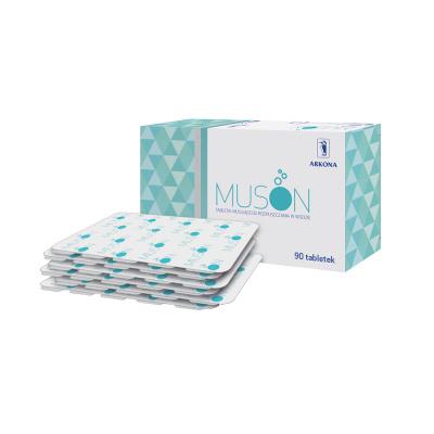 Muson tabletki 90 szt. (6 blistrów x 15 tabletek)