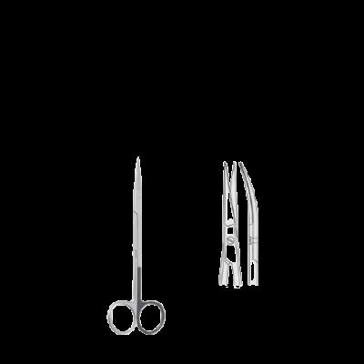 Nożyczki Kelly zagięte 160 mm BS.431.160 Falcon