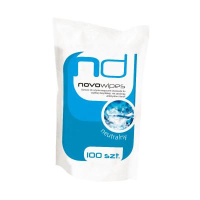 Novowipes chusteczki dodezynfekcji uzupełnienie 100 szt.