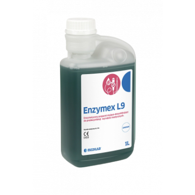 Enzymex L9 (płyn domanualnego mycia idezynfekcji narzędzi) 1L Medilab