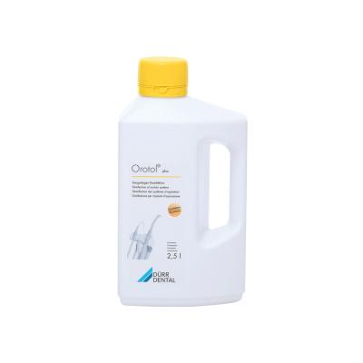 Orotol Plus 2.5L -koncentrat dodezynfekcji instalacji ssących iseparatorów amalgamatu Durr Dental