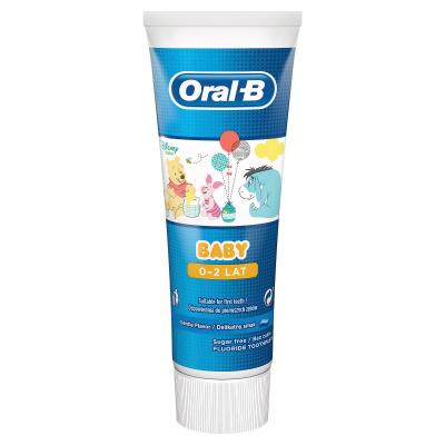 Pasta dozębów dladzieci ORAL-B Stages Baby 0-2 Kubuś Puchatek 75 ml