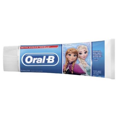 Pasta dozębów dladzieci Stages 3+ Frozen 75 ml Oral-B