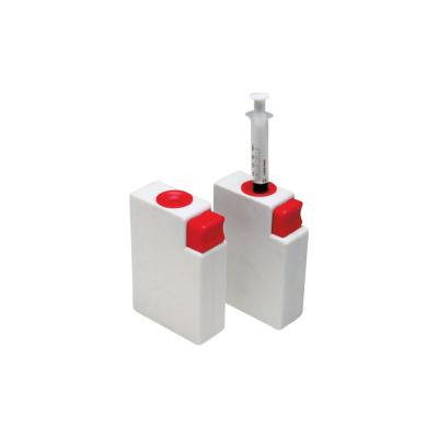 Pudełko nazużyte igły (białe, prostokątne) 0.3L Dental Market