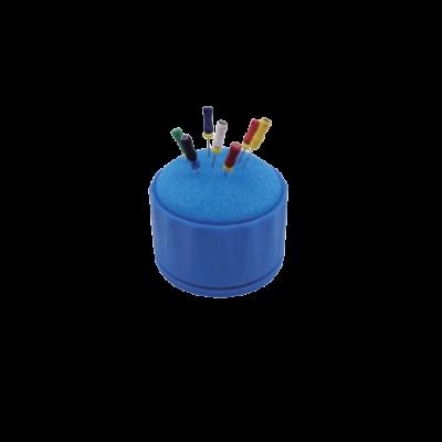 Pojemnik dodezynfekcji instrumentów endodontycznych (niebieski) DZ.572.030 Falcon