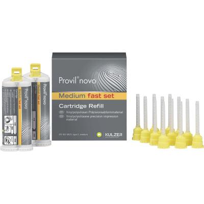 Provil Novo Medium CD Fast żółty 2×50 ml Kulzer