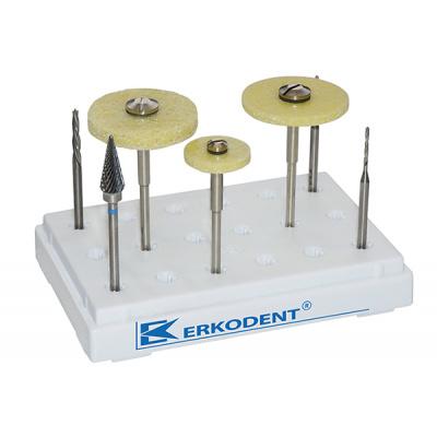 Quick III Set zestaw doobróbki materiałów termoplastycznych Erkodent