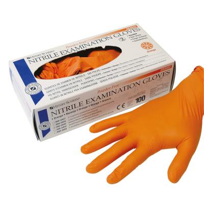 Rękawiczki nitrylowe bezpudrowe zapachowe Henry Schein 100 szt.(produkt zograniczeniem ilościowym)