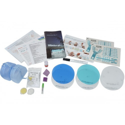 Silensor-SL Set 120 mm zestaw dladwóch pacjentów Erkodent