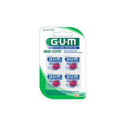 Tabletki wybarwiające Red-Cote Sunstar GUM