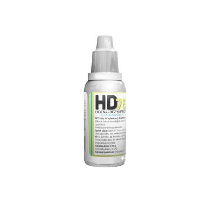 Kieszonkowy płyn dodezynfekcji rąk HD75 Arkona