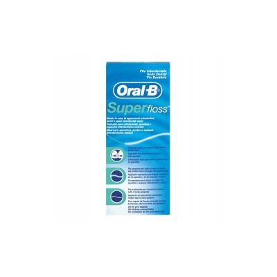 Nić dentystyczna Super Floss ORAL-B