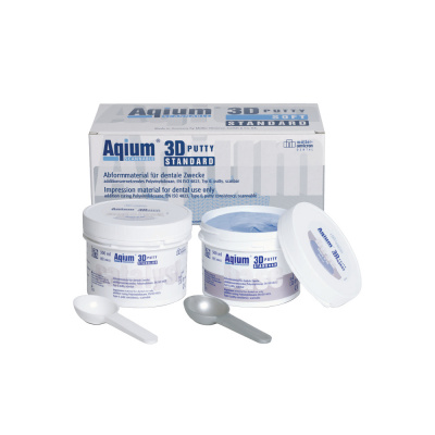 Aqium ® 3D Putty Soft (2 x 300 ml) Müller-Omicron