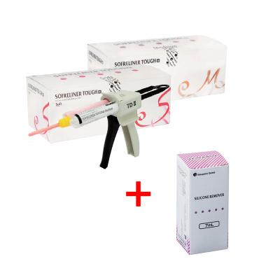 Sofreliner Tough Kit materiał dopodścieleń Tokuyama Dental  + Silicone Remover 7 ml za1 zł