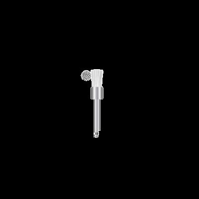 Szczoteczka polerska nakątnicę ø 5 mm (płaska -biały nylon) ST-P004 Falcon
